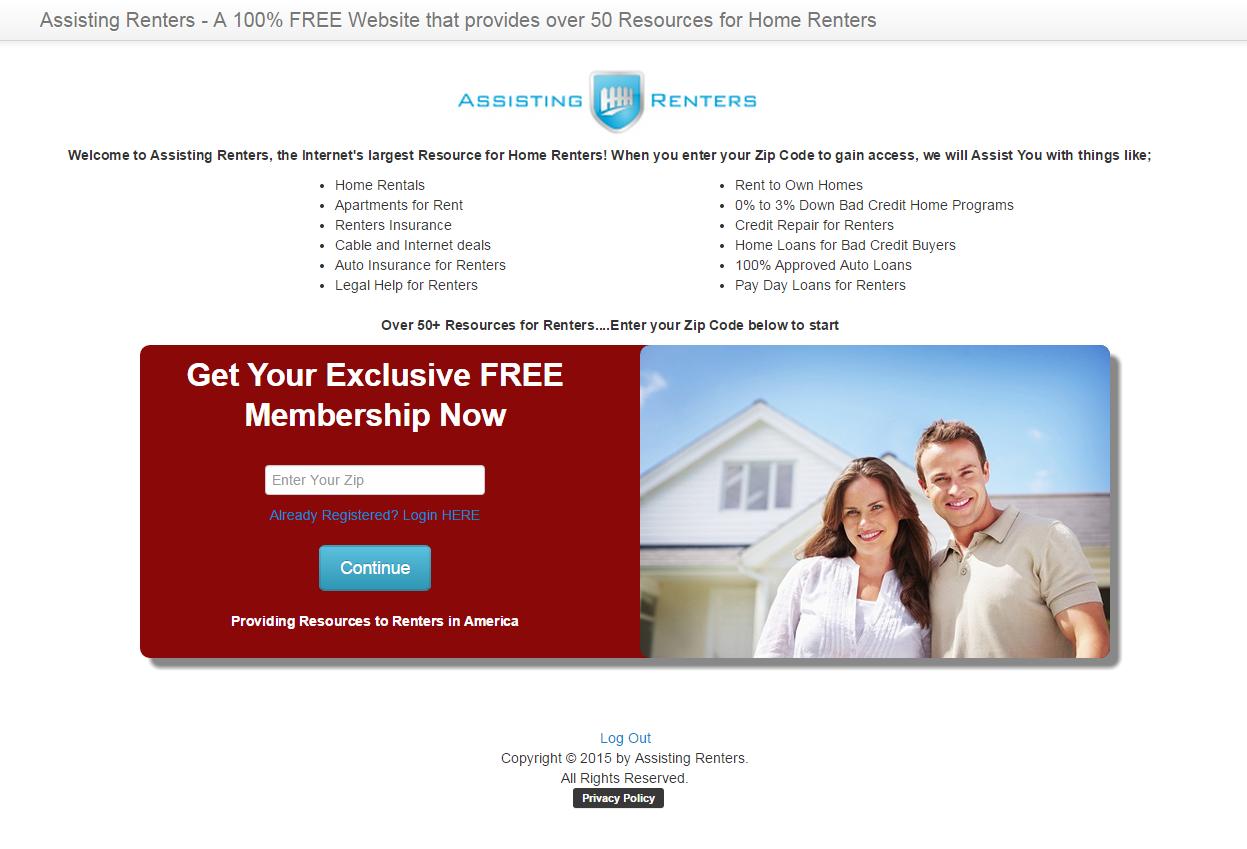Assisting Renters image
